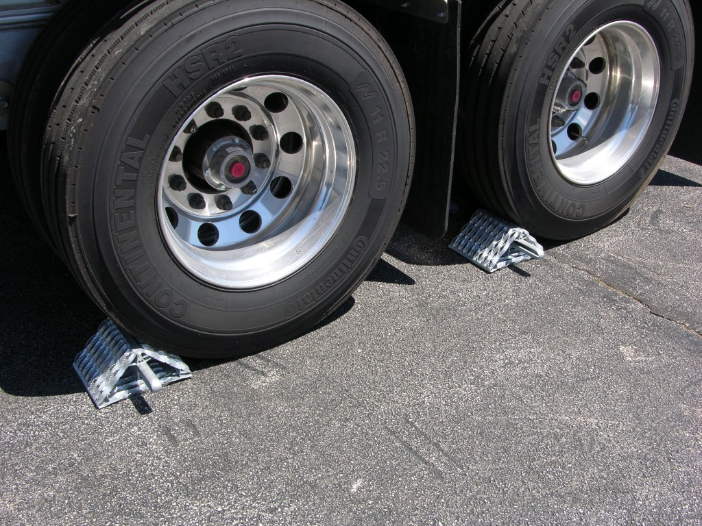 All Weather Tires >> All-Weather Wheel Chocks - Sauber Mfg. Co.