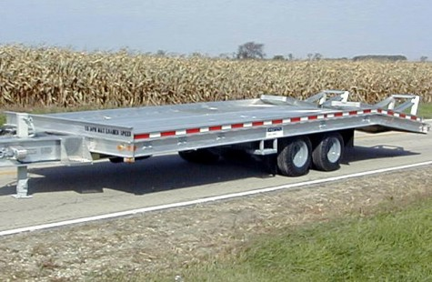 Model 1580 al aluminum beavertail trailer sauber mfg co model 1580 al aluminum beavertail trailer asfbconference2016 Image collections