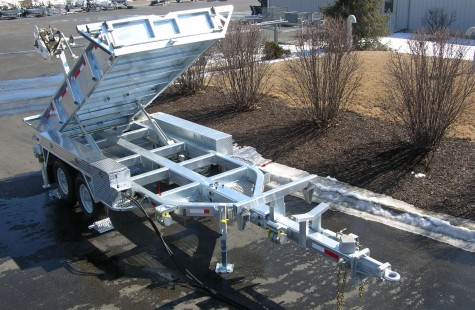 Bent-Tube Trailer Frames - Sauber Mfg. Co.